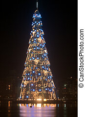 Christmas Tree - Christmas tree at the Lagoa Rodrigo de...