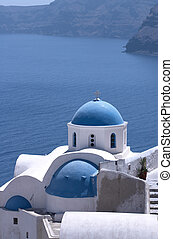 Santorini Churches 5 - One of the famous churches on the...