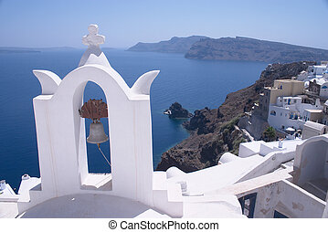 Church at oia - One of the churches on Santorini