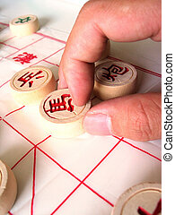 Chinese Chess - Board Games - Chinese Chess Making a Move