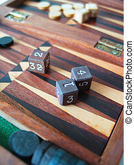 Backgammon - Board Games - Backgammon