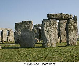 Stonehenge 3 - famous stone circle at stonehenge england,...