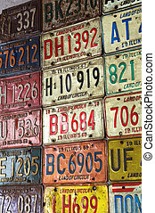 Years - Photos of Old Illinois Land Of Lincoln License...