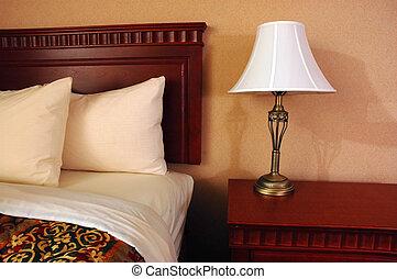 hotel, habitación