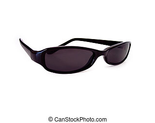 Sunglasses - Black sunglasses. Path included in file.