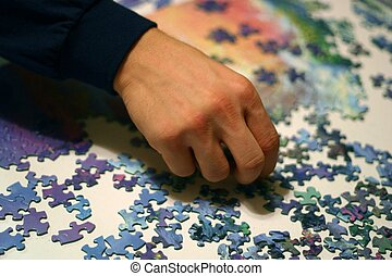 Puzzled - Putting the pieces of a puzzle together