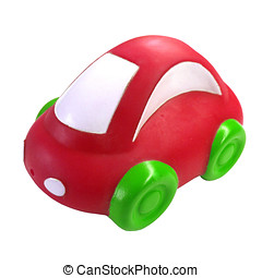 Toy Car - Red Toy Car
