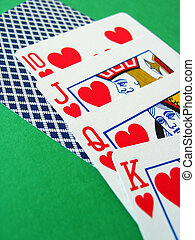 Poker Cards - Royal Flush