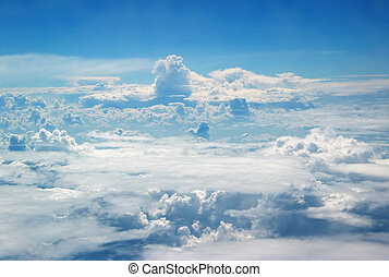 Clouds - View of Clouds From Plane