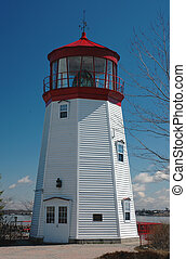 Lighthouse 2 - St Lawrence Seaway Lighthouse, Prescott,...