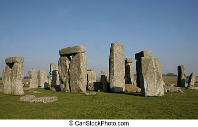 stonehenge 4 - English pagan stone circle dating back to...