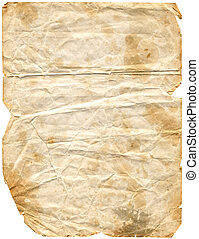 Aged Paper 2 path included - Grungy paper
