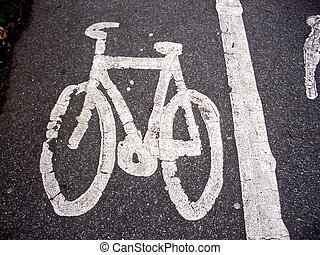Bike - This is a symbol that is used to indicate a cycle...