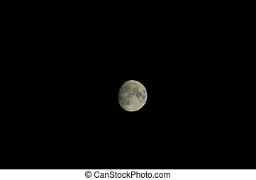 Full moon by night in Egypt