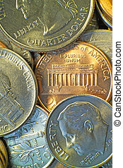 American coins 2 - American coins including the penny,...