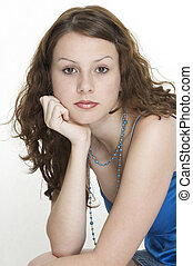 Beauty 12 - A portrait of a beautiful young woman
