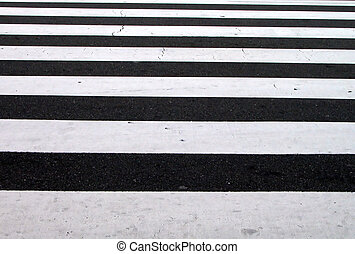 Crosswalk Texture - a bw texture generated by an ordinary...