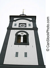 Church Steeple in Roros Norway