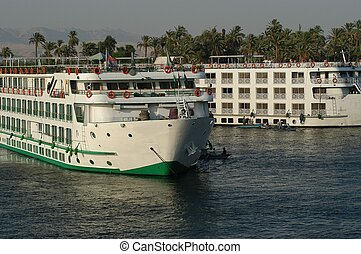 Nile cruises - cruises on the Nile river, Egypt