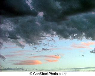 beautiful skies - Auora clouds
