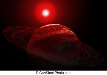 Red Planet Rings