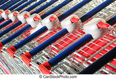 Supermarket Trolley - Object - Supermarket Trolley