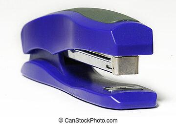 Blue Stapeler - Blue staple gun