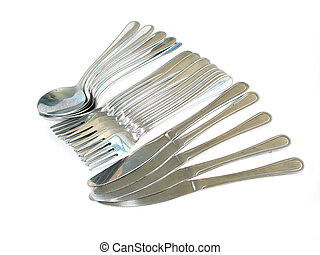 Cutlery - Forks, Spoon, Knife