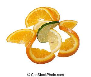 Citrus Twist - Twists of citrus fruit