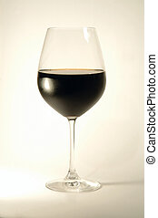 Glass of wine - Glass of red wine