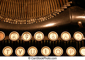 No Spell Check - Antique typewriter