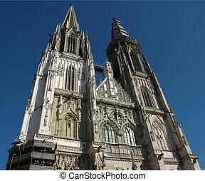 Cathedral in Regensburg - a Cathedral in Regensburg, Bavaria