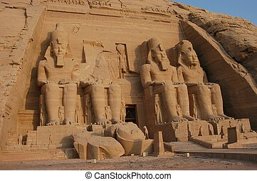 Abou Simbel Great Temple, Egypt