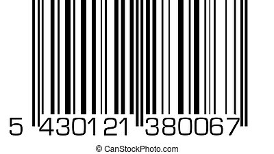Barcode - A very big barcode.