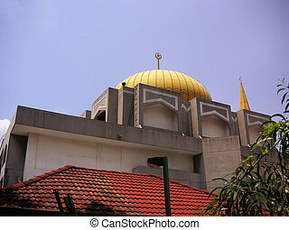 Malay mosque - A malay mosque in Kuala Lumpur, Malaysia