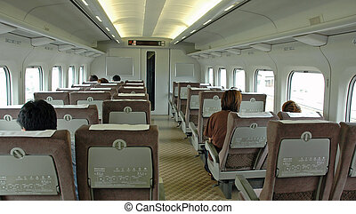Train Interior - Interior of High Speed Train