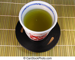 Cup Of Tea - A traditional Japanese cup of tea