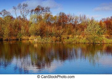 Mirror - Scottish Stillwater, taken April 21, 2005