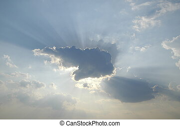 Heavenly Skies - photo taken April 19, 2005 in Cookstown...
