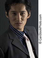 Male Model - An asian male model in smart casual clothing