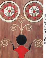Aboriginal Ornaments - Taiwan aboriginal wood carving