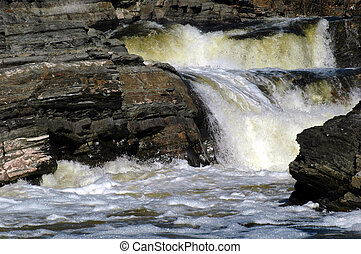 Hogsback Falls - Waterfalls on Rideau River, Ottawa