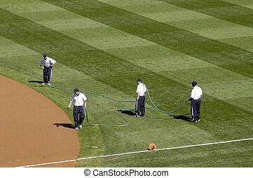 Dust Control - grounds crew