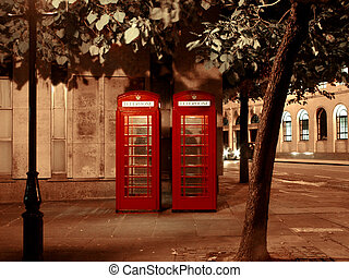 Short Distance Call - London Telephone Booths