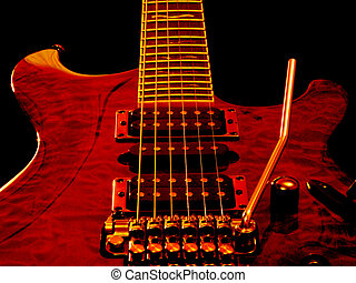 Six String Guitar - Electric Guitar