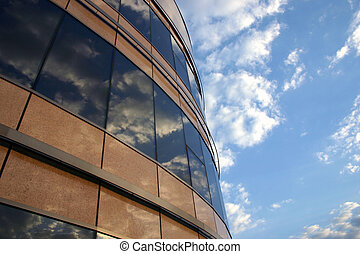 Corporate building 2 - Corporate building and the sky...