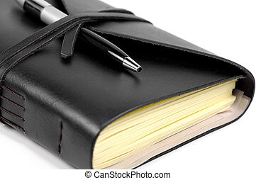 Journal - Photo of a Journal and Pen