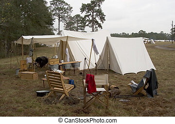 Tent - Civil war camp