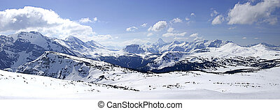 Mountain Panoramic - A canadian rockies panoramic taken...