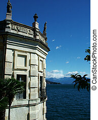 Mediterranean flair - Digital photo of an old building taken...